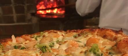 Pizza Gamberetto i Brocoli